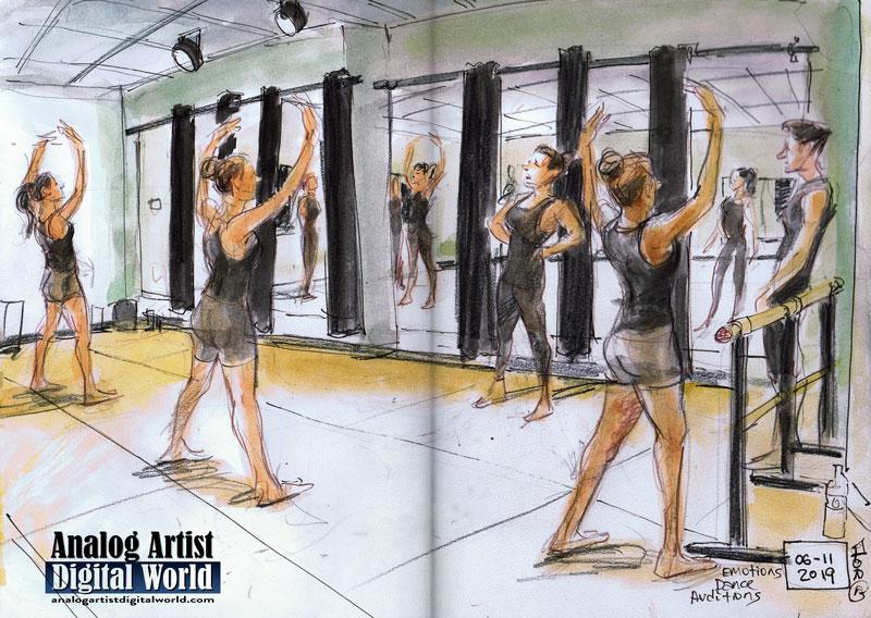 Analog Artist Digital World: Emotions Dance Auditions