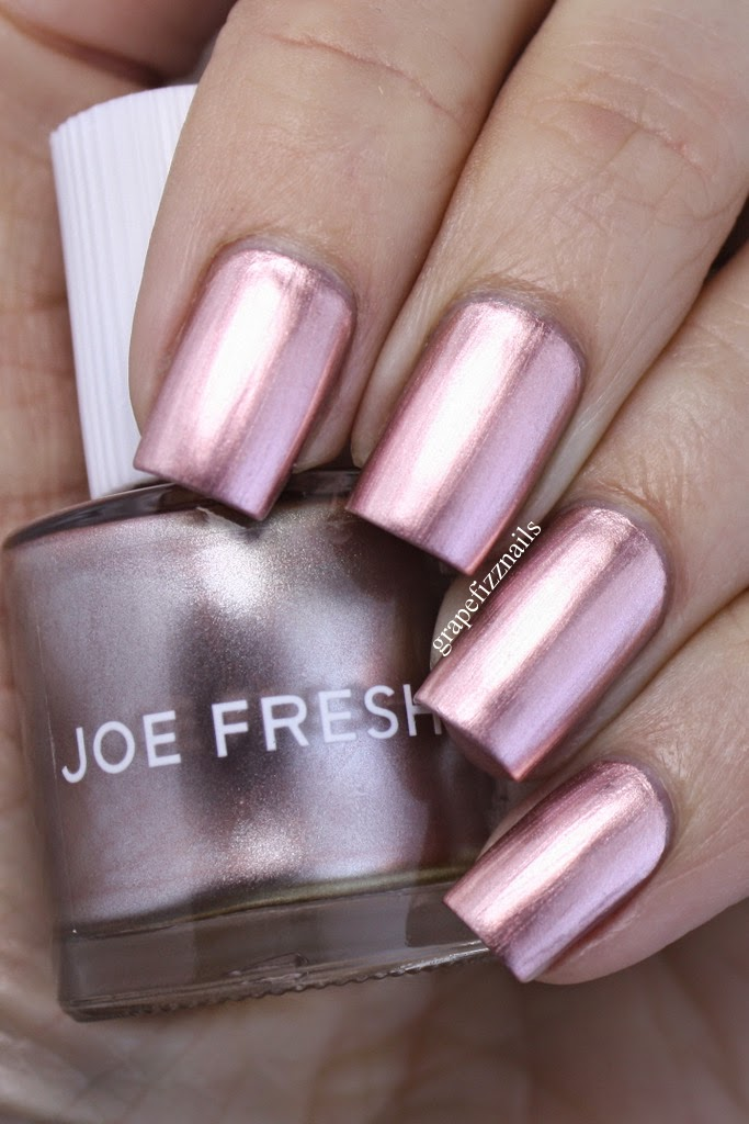 You All Know By Now How Much I Love Joe Fresh Polishes So When Saw Rose Gold It Of Course Went Straight Into My Basket