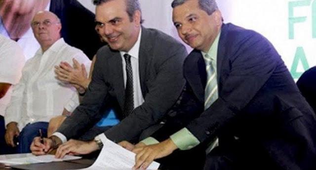 Frente Amplio proclamará a Luis Abinader como su candidato presidencial