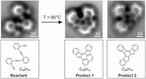Molécula real vs dibujada