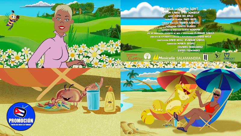 Haila María Mompié - ¨¿Quién soy?¨ - Videoclip Animado - Director: Andros Barroso. Portal Del Vídeo Clip Cubano. Música infantil cubana. Cuba.