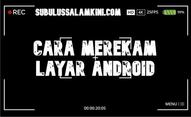 Cara Merekam Layar Android Dengan Mudah  Berikut admin telah membuat tutorial Cara Merekam Layar Android Dengan Mudah utntuk teman-teman semuanyaaa.... SIlahkan disimak yaaa :)  Menggunakan Aplikasi Bawaan