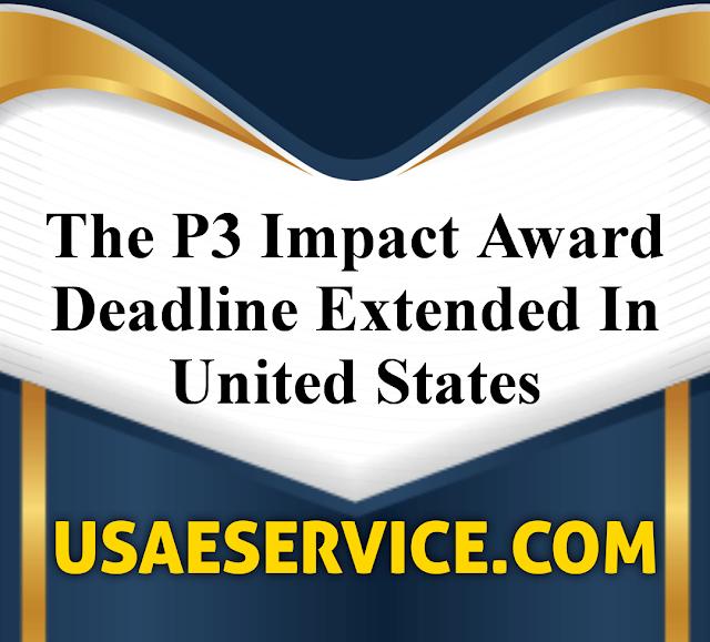 P3 Impact Award United States