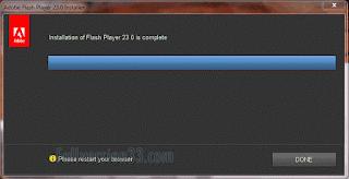 Adobe Flash Player 23