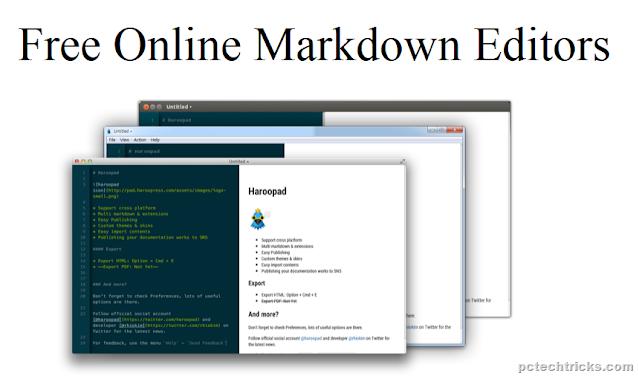 Best Free Online Markdown Editors