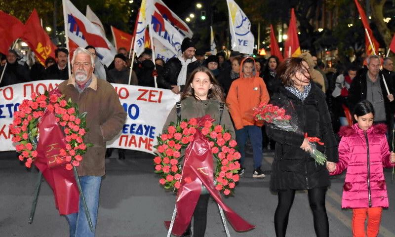 Αλεξανδρούπολη: Αγωνιστικός εορτασμός της εξέγερσης του Πολυτεχνείου
