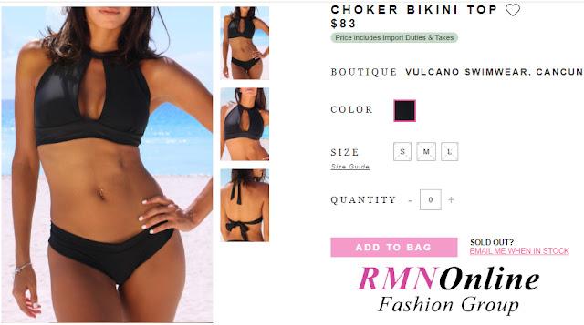 Women's Shopping Deals - Choker Bikini To (RMNOnline.net - RMNOnlineFashion.com)