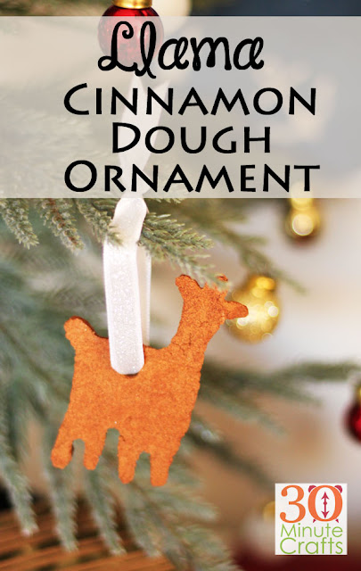 how to make cinnamon dough christmas ornaments