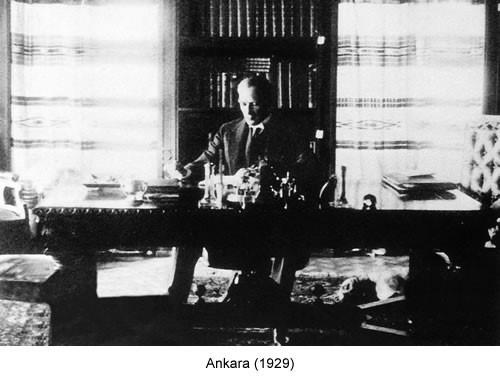 Atatürk Ankara 1929 Fotoğraf
