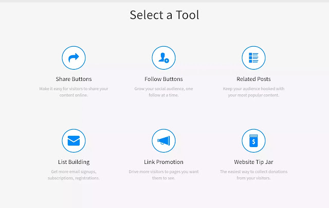 Addthis tools