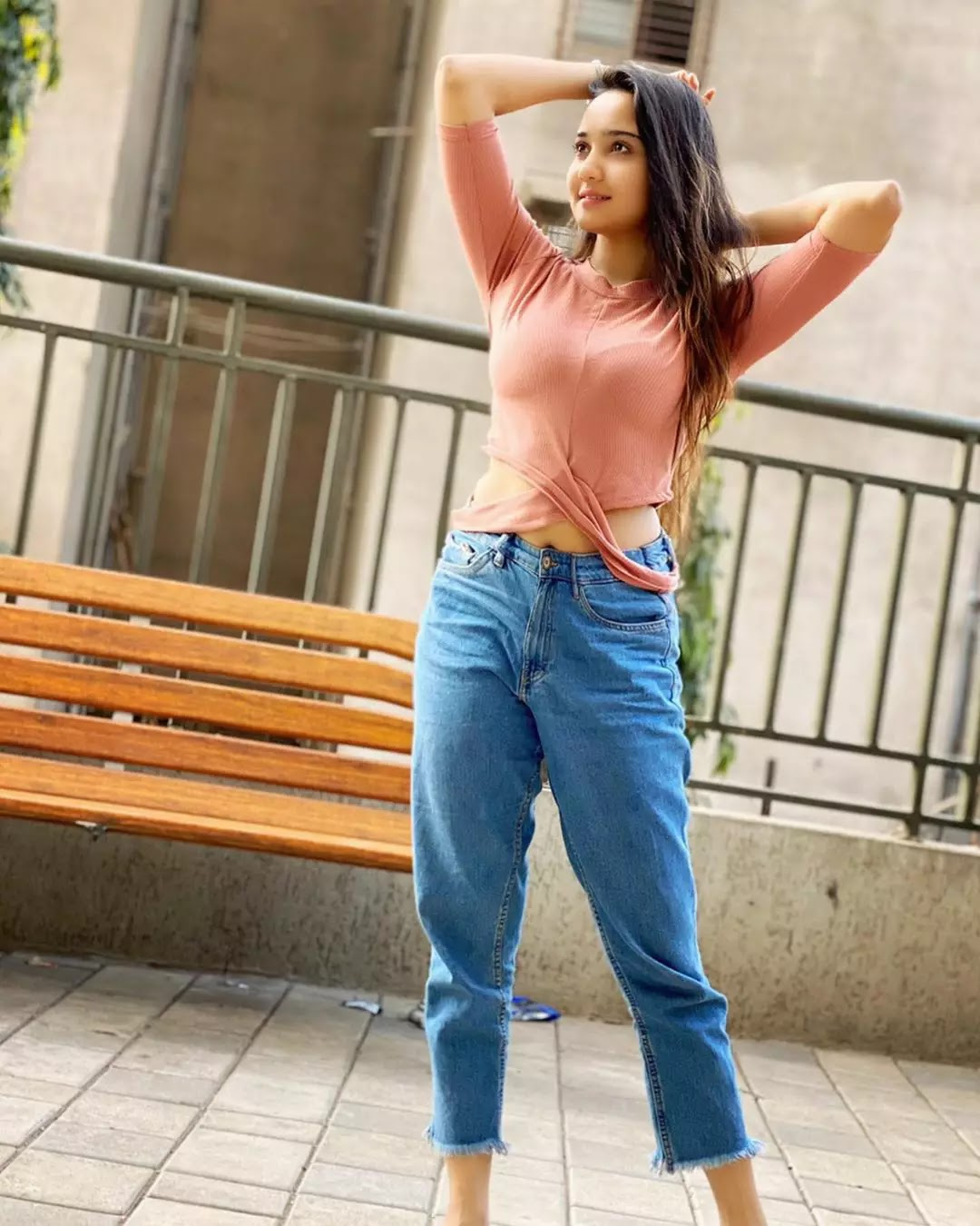 hot ashi singh in jeans