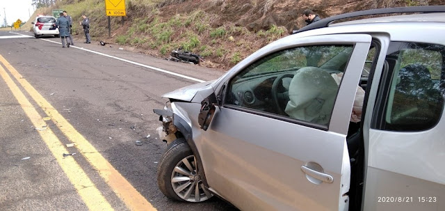 Motociclista morre vítima de acidente de trânsito na Rodovia Ângelo Rena, em Presidente Prudente