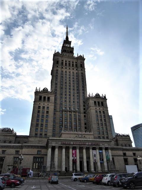 palazzo della cultura e scienza varsavia
