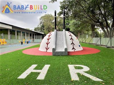 BabyBuild 棒球特色遊戲場