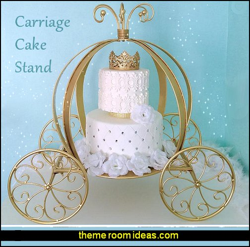 Carriage Cake Stand princess cinderella party decoration