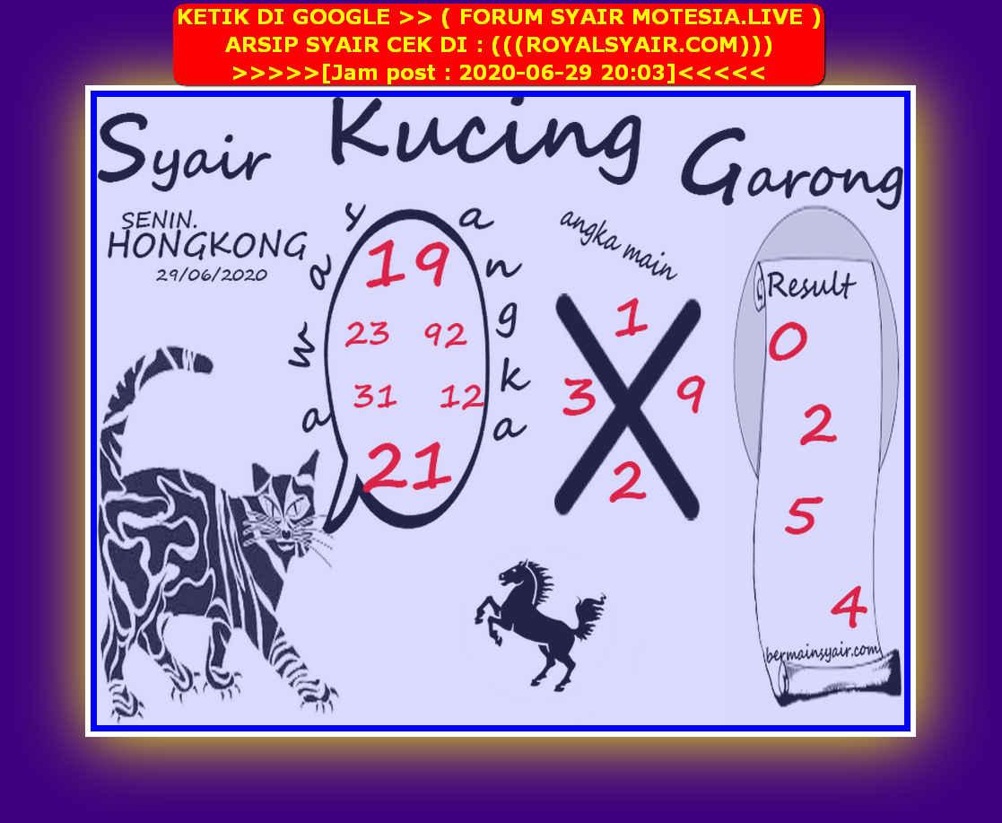Kode syair Hongkong Senin 29 Juni 2020 141