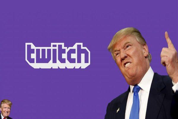 منصة Twitch تعطل حساب دونالد ترامب على منصتها