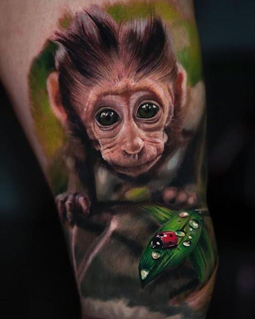 color tattoo super realistic