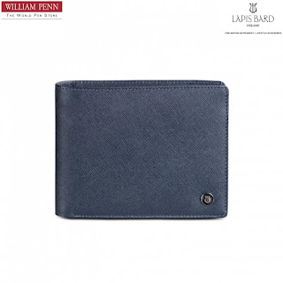 Lapis BardStanford Bi-Fold Wallet with Coin Pouch