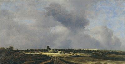 Jacob van Ruisdael - Vue de Naarden.