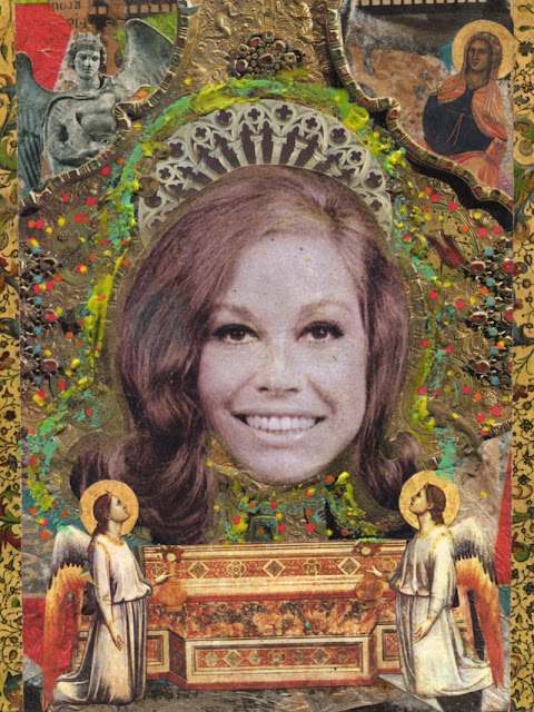 Celebrity Icon collage -- Mary Tyler Moore show