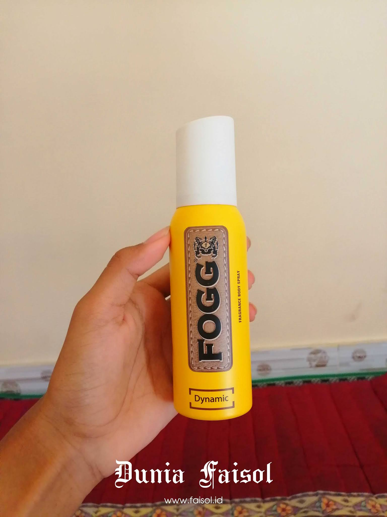 Review Parfum FOGG Fragrance Body Spray Dynamic