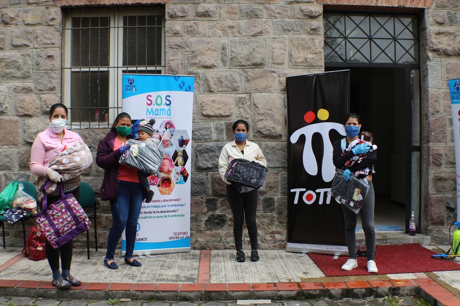 Fundación SOS Mamá ayudó a 180 heroínas invisibles