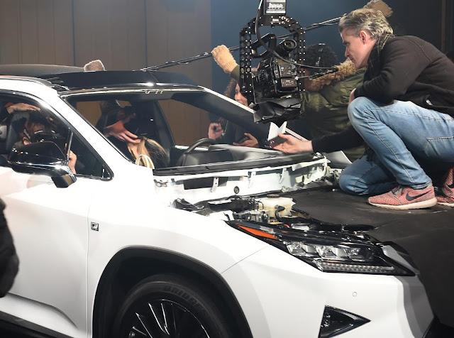 Lexus sahnede