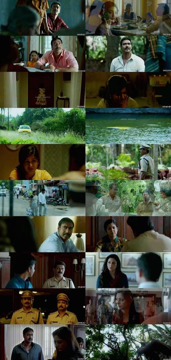 Drishyam Hindi DVDScr 300mb