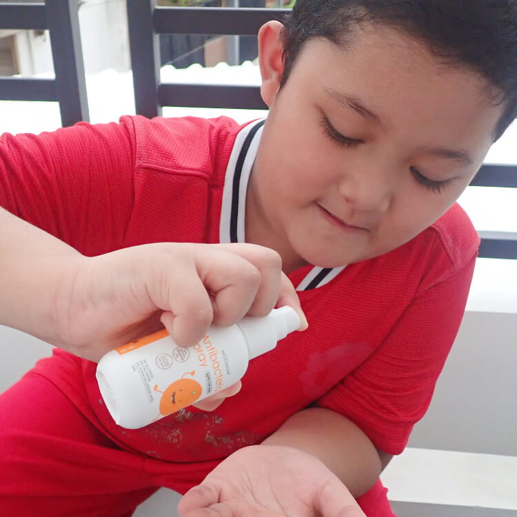 antibacterial spray oh my orange