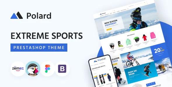 Best Extreme Sports Clothing Equipment PrestaShop Theme