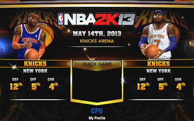NBA 2K13 Knicks Accessories Fix