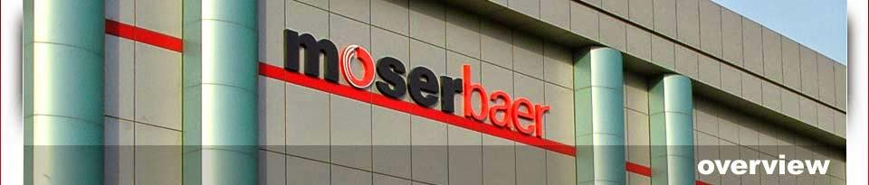 Moser Baer Company Profile
