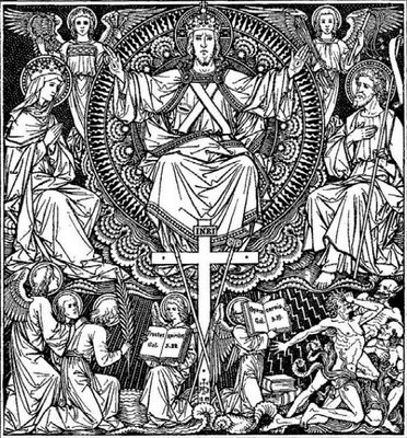 Christ The King Coloring Page - Christ-the-king-coloring-page