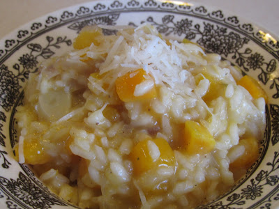 GF Butternut Squash, Garlic & Shallot Risotto