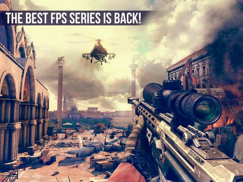 Modern Combat 5: Blackout for Android, iOS and Windows Phone