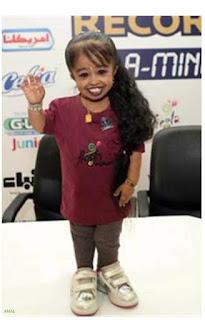 جيوتي امجي /أقصر امرأة في العالم