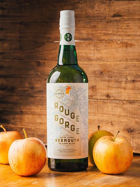 Vermouth cidre blanc Rouge Gorge Domaine Lafrance