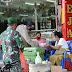 """""""1000 Nasi Bungkus"""" Peduli Kasih Kodam IX Udayana dan Kepolisian Daerah Bali Bersatu Melawan Covid 19"""