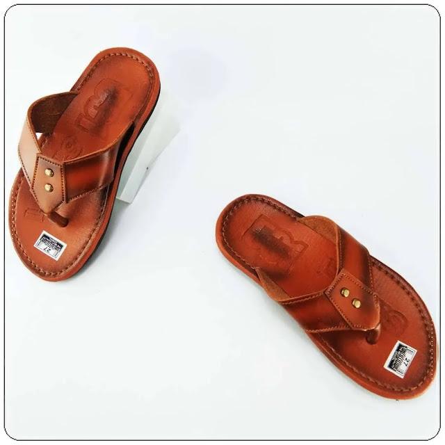 Pengrajin Sandal Kulit Imitasi- Sandal Levis CPC Anak