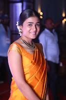 Shalini Pandey in Beautiful Orange Saree Sleeveless Blouse Choli ~  Exclusive Celebrities Galleries 030.JPG