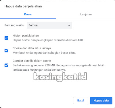 Cara Memperbaiki ERR_CONNECTION_RESET di Chrome