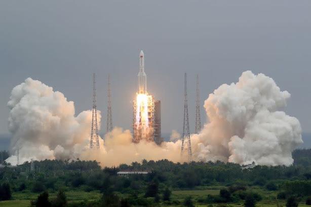 Temor en el mundo por cohete chino que regresará a la Tierra fuera de control