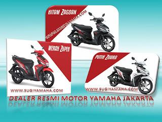 KREDIT MOTOR, DEALER YAMAHA, YAMAHA MIO, BLUCORE, WWW.SUGIYAMAHA.COM
