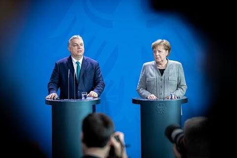Kiábrándító pofon a károgóknak: Merkel szerint töretlen a magyar gazdaság fejlődése