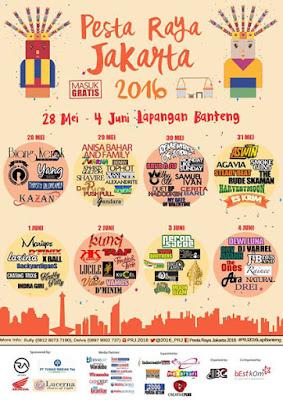 Pesta Raya Jakarta 2016