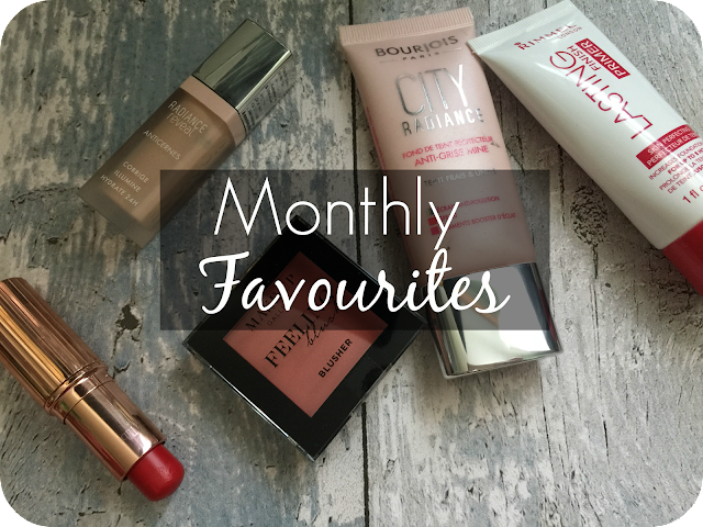 monthly beauty favourites