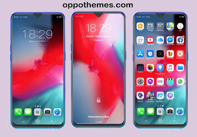 IOS 12 Theme For Oppo & Realme Android