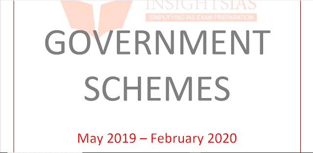 Insights IAS Government Schemes