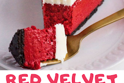 The classic very popular Red Velvet Cheesecake
